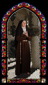 St. Clare stained glass