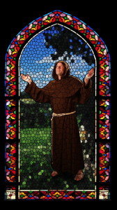 St. Francis stained glass