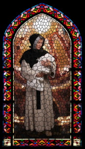 St. Marguerite d'Youville stained glass