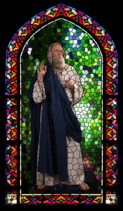 St. Peter stained glass
